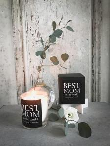 Doftljus: Best Mom in the world - Mellow Design