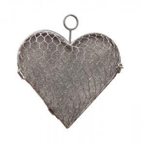 Eldgarden, Hjärta i hönsnät, platt baksida