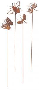Eldgarden, Små flygande Fjärilar (utomhus, på spett)