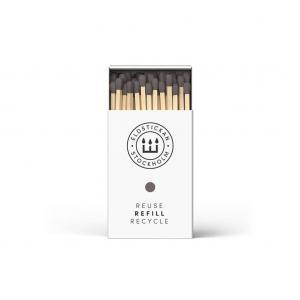 Eldstickan tändstickor, grå aska (refill)