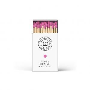Eldstickan tändstickor, rosa (refill)