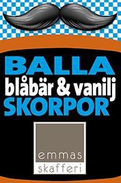 Blåbär & Vaniljskorpor - Emmas Skafferi