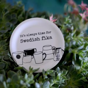 Minibricka/Glasunderlägg SWEDISH FIKA - Erika Tubbin