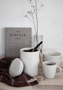 ERNST Kaffemått Ljust trä/metall