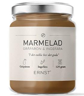 ERNST Marmelad (päron/ingefära)    LEV v 43