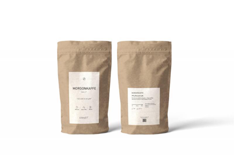 ERNST Morgonkaffe (malet mörkrost)