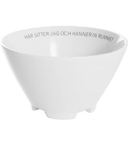 "ERNST Skål Citat ""Rummet"""
