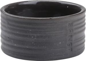 ERNST ljuslykta/ skål i stengods - Mörkgrå
