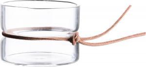 ERNST Vas/värmeljuslykta i glas H 6cm