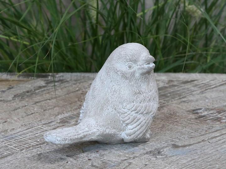 Fågel, cement - Chic Antique