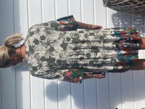 "Mönstrad klänning/tunika ""Faith"", army - Gemini"
