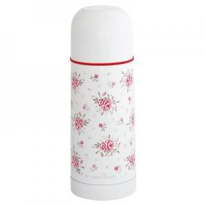GreenGate Termos, Flora white 300ml
