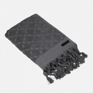 Handduk mörkgrå, 70x140 cm