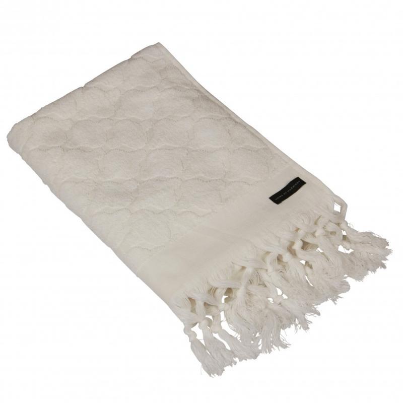 Handduk offwhite, 70x140 cm
