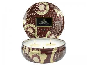 Forbidden Fig 3-Wick Tin Candle - Voluspa Doftljus