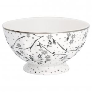 French bowl xlarge Amira white - Greengate