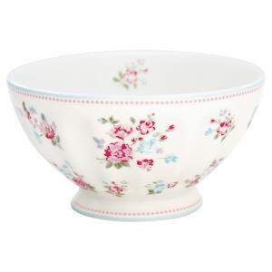 French bowl xlarge Sonia white - Greengate