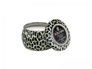 French Linen,  Mini Decorative Tin Candle - Voluspa Doftljus