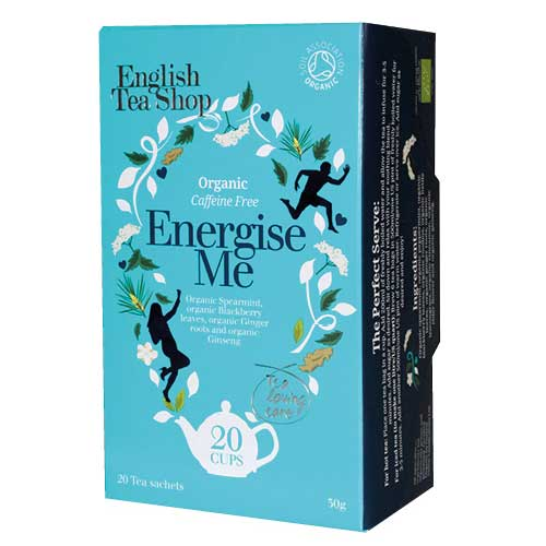Hälsote, Energise me - English Tea Shop