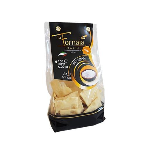 Pita Crackers med havssalt