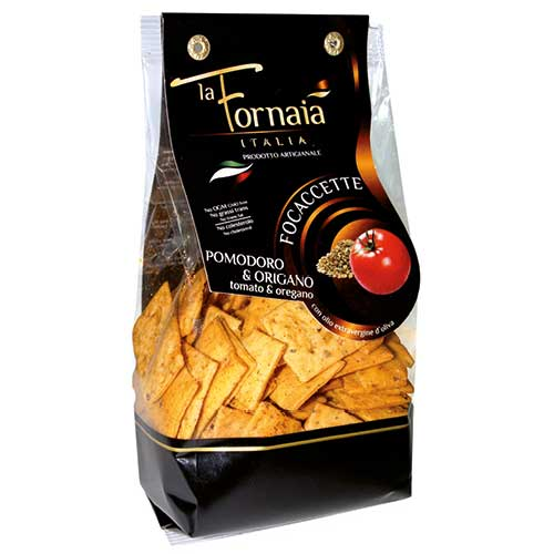 Focaccette med Tomat & Oregano