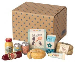Maileg, Miniatyr Livsmedels box (Kommer i april)