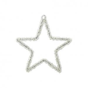 glas Stjärna Fiona silver