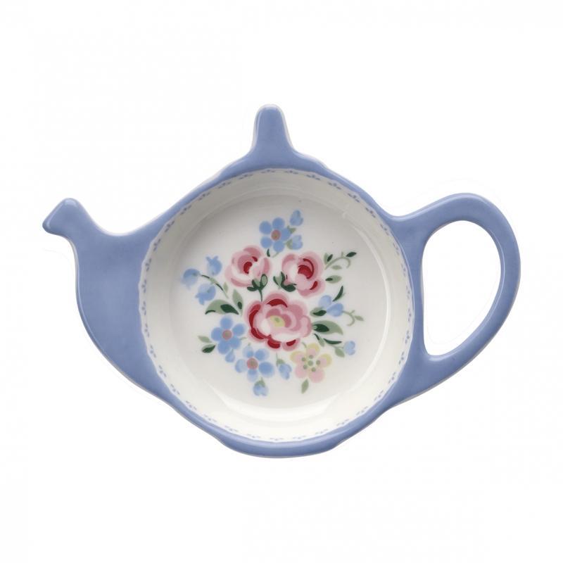 Teabag holder Nicoline dusty blue