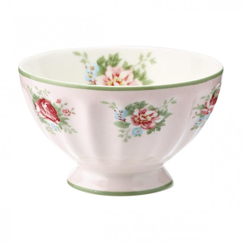 French bowl medium Aurelia pale pink