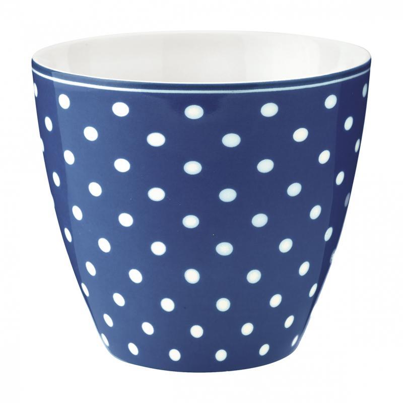 Latte mugg Spot blue