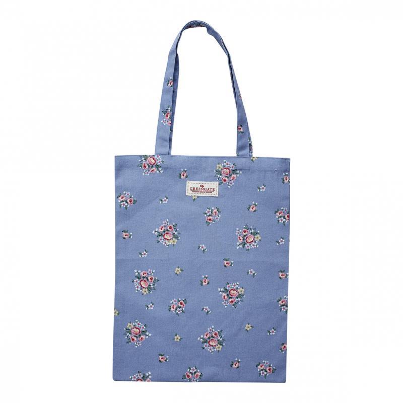 Shopping kasse/tygkasse, Nicoline dusty blue