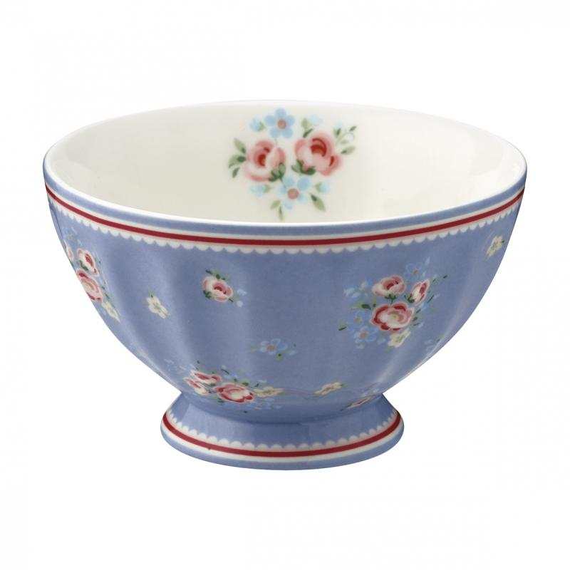 French bowl medium Nicoline dusty blue