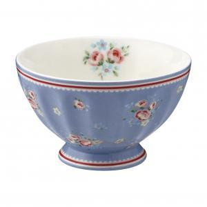 French bowl medium Nicoline dusty blue