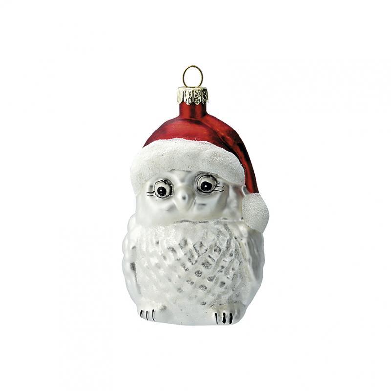 Owl Joselyn white hanging