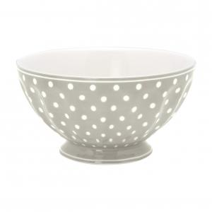 French bowl xlarge Spot grey
