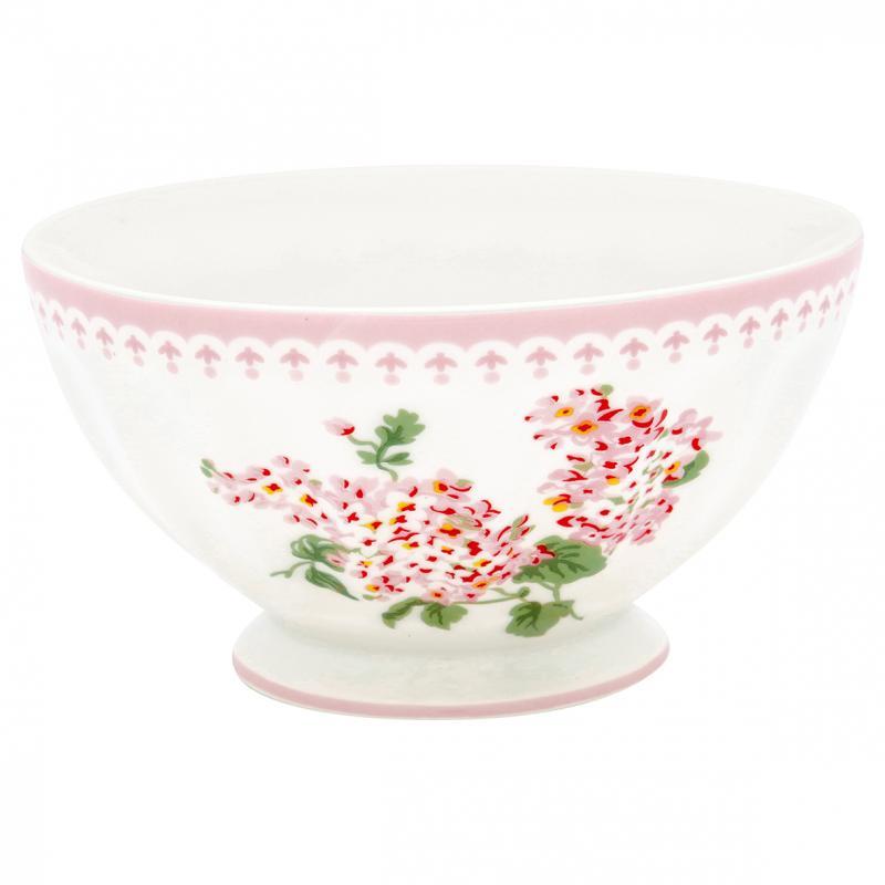 French bowl xlarge Luna white