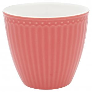 Lattemugg Alice coral