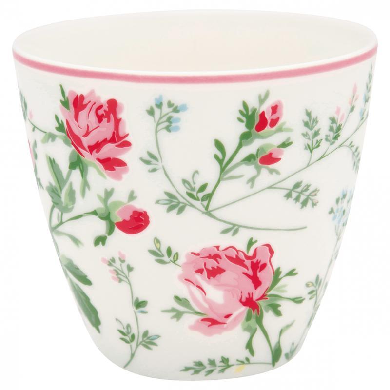 Lattemugg Constance white