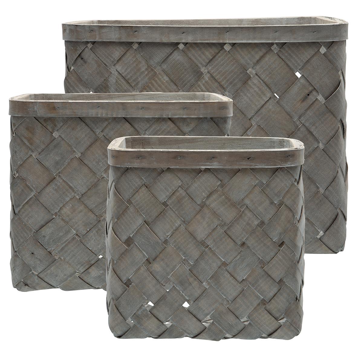 Korg dusty grey - finns i tre storlekar