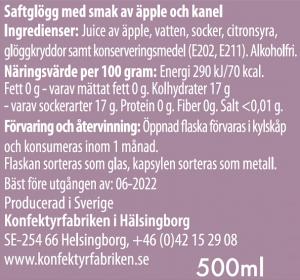 Äpple/kanelglögg - Konfektyrfabriken