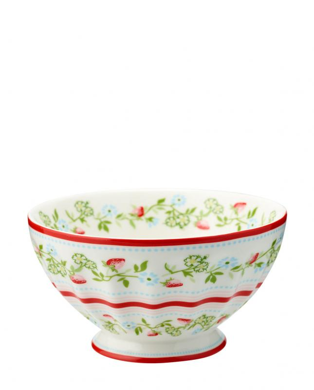 Greengate French bowl XL Gloria White
