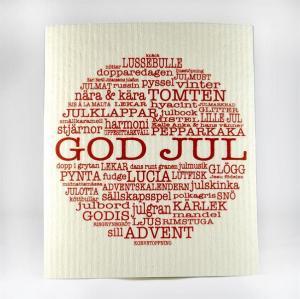 "Servett ""GOD JUL"""" - Mellow Design"