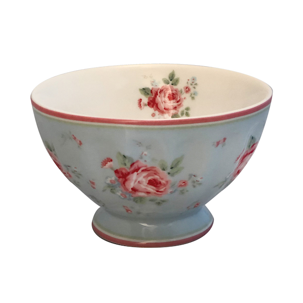French bowl medium Marley pale blue - Greengate