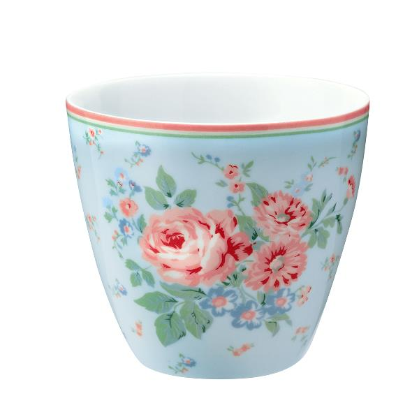 Greengate, Latte mugg Marley pale blue
