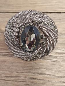 GreenGate Servett-ring Crystal grey