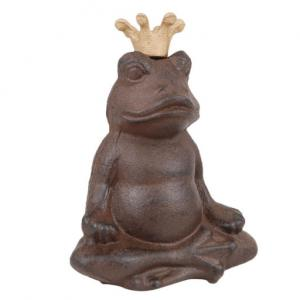 "Groda i gjutjärn ""Buddha"" (Miljögården)    - I LAGER FEB -"