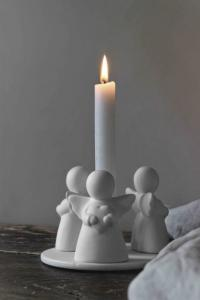 Guardian Angels Trio Ljusstake, Kronljus - Majas Cottage (beräknas komma i oktober)