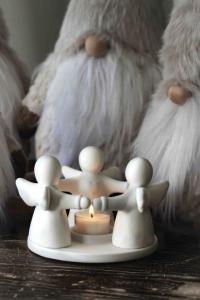 Guardian Angels Trio Ljusstake, Värmeljus - Majas Cottage (beräknas komma i oktober)