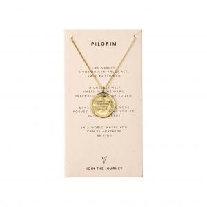 Halsband Caris Guldpläterad – Pilgrim