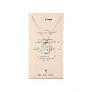 Halsband Caris Silverpläterad – Pilgrim